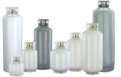 100 gallon horizontal propane tank